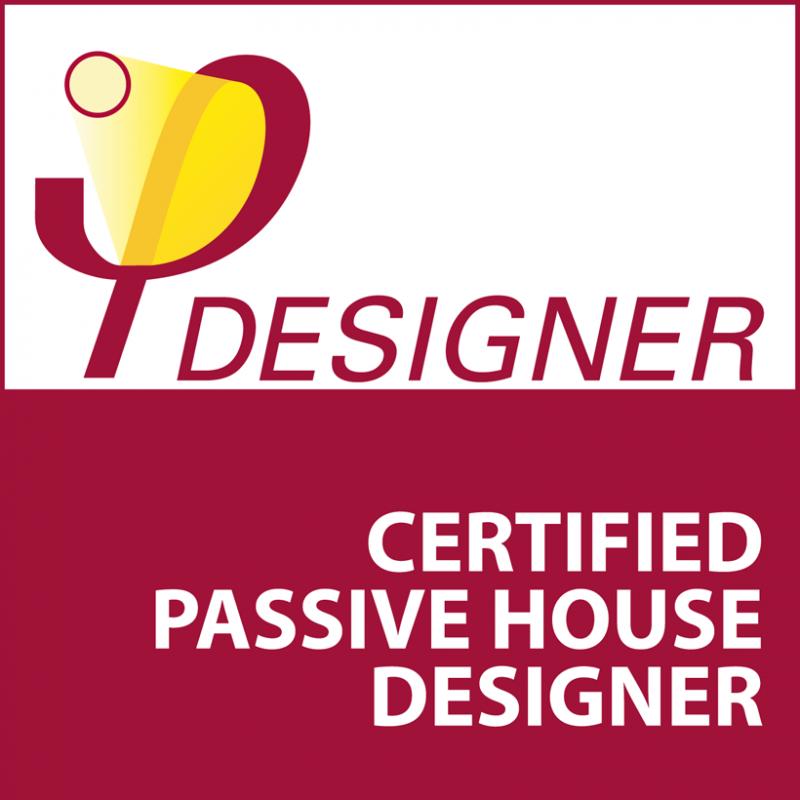 Accredited Passivhaus designer