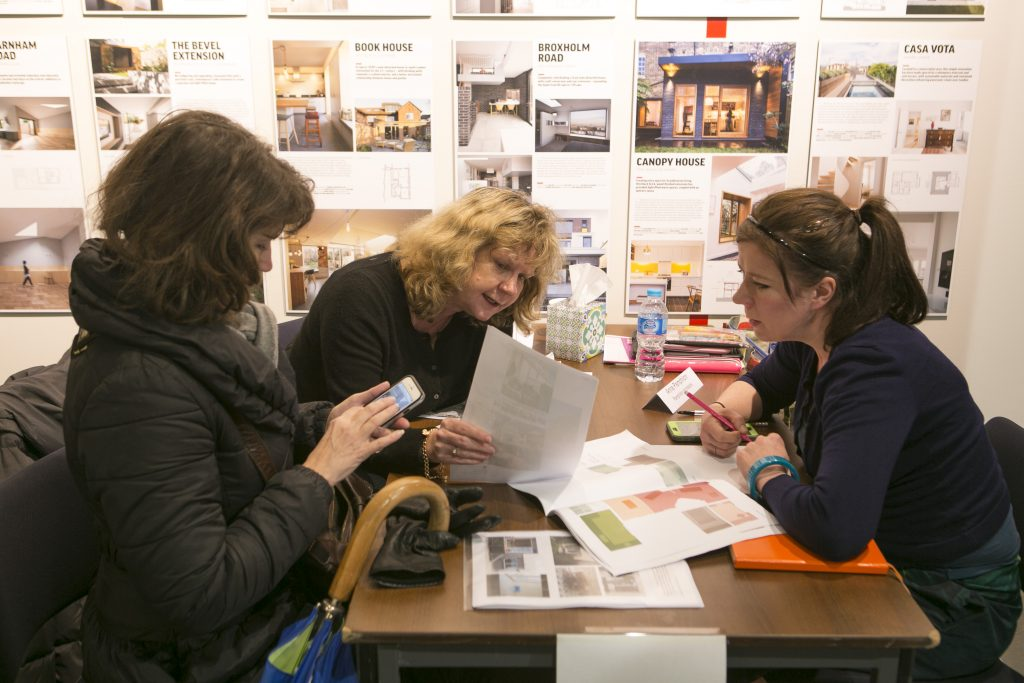 Pamphilon Architects take part in the Dont Move Improve workshops and talks